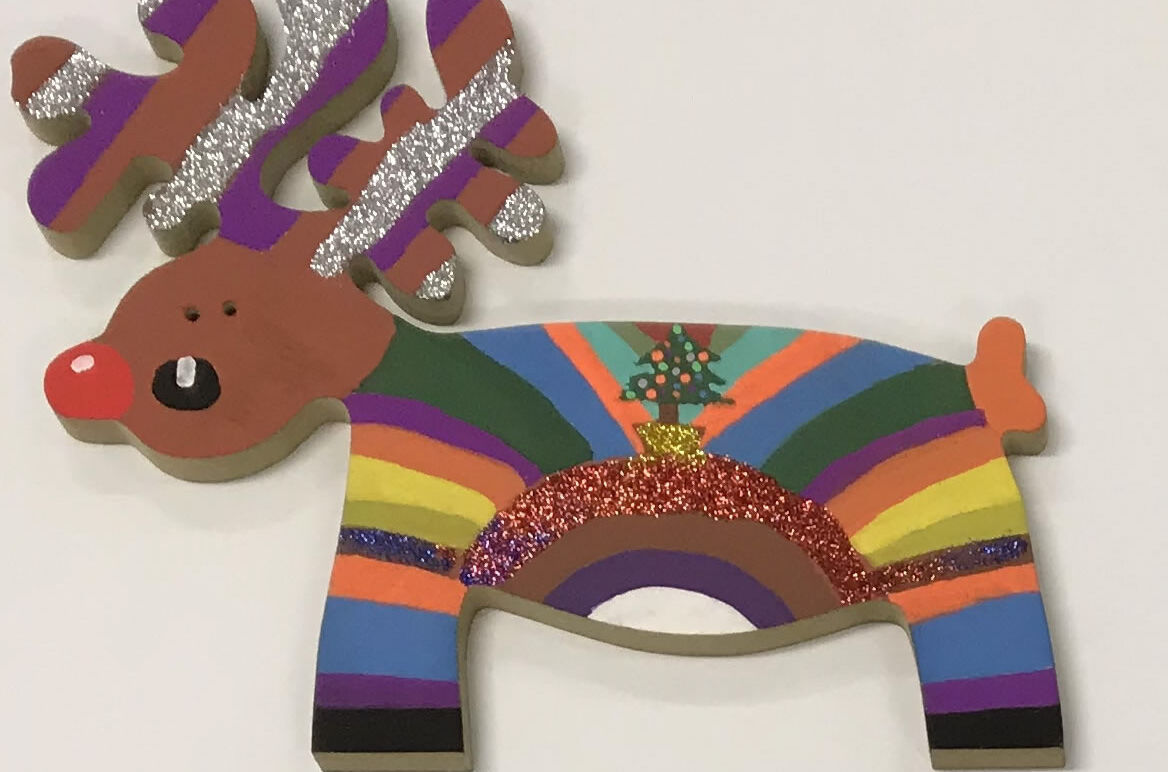 Decorate a Reindeer competition