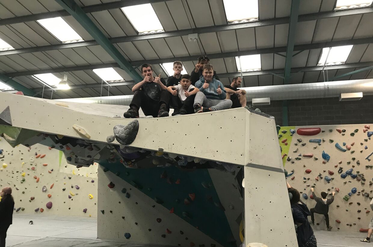 Bouldering at Bloc in Bristol