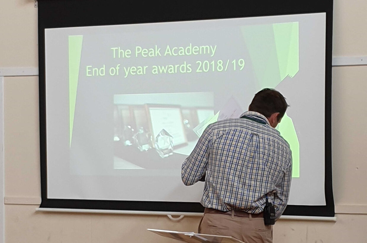 Students' Achievements Celebrated at Awards Assembly