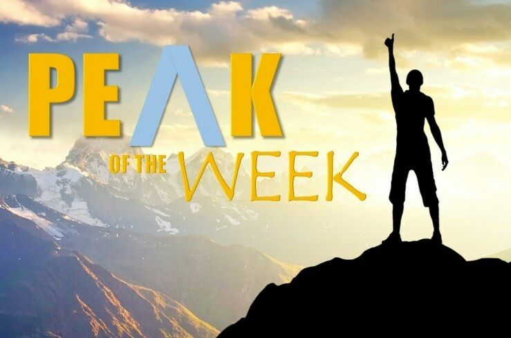 Peak of the Week 29th April 2019