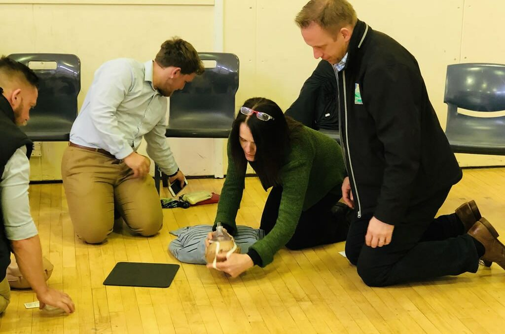 Staff CPD on Basic Resuscitation Skills
